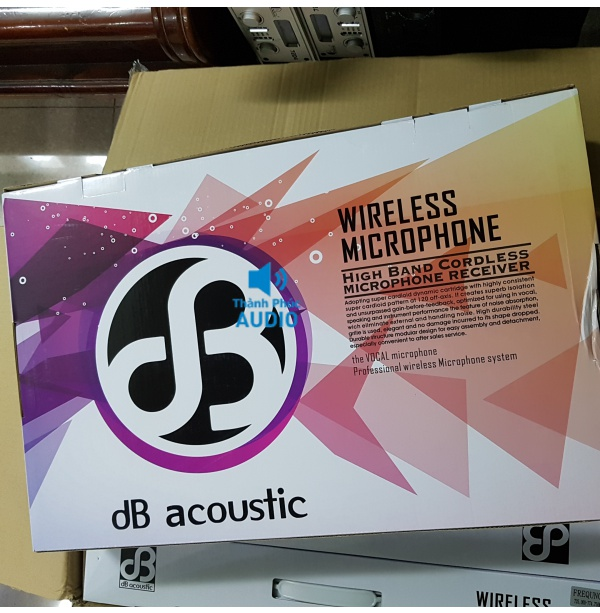 Micro Db acoustic 550 pro